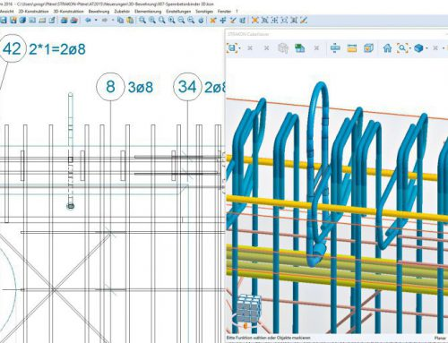 STRAKON DICAD – Amazing 2D / 3D BIM Software for Reinforced Concrete Design
