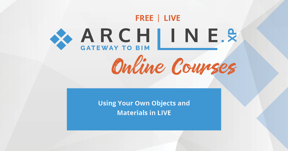 mailing archline Using Your Own Objects and Materials in LIVE