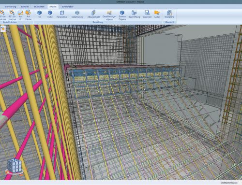 STRAKON – Improve your BIM with Reinforced Concrete Modeling