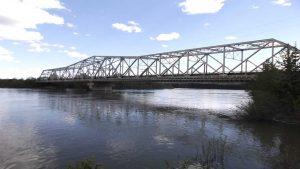 The Upper Liard River Bridge Jacking 4